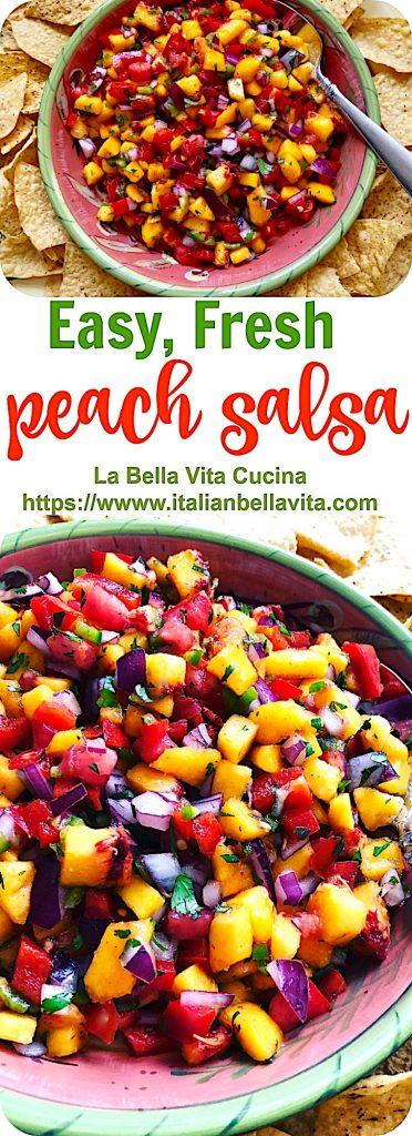 Perfect Peach Salsa